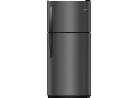 Frigidaire Black Stainless Steel Top Freezer Refrigerator - FFTR2021TD