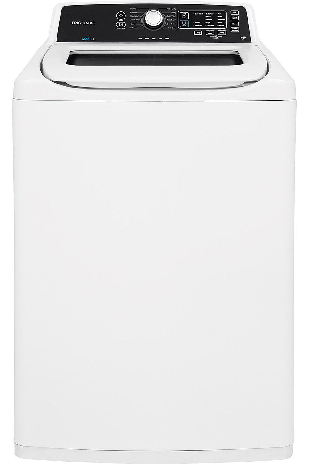 frigidaire white top load washer fftw4120sw. Black Bedroom Furniture Sets. Home Design Ideas