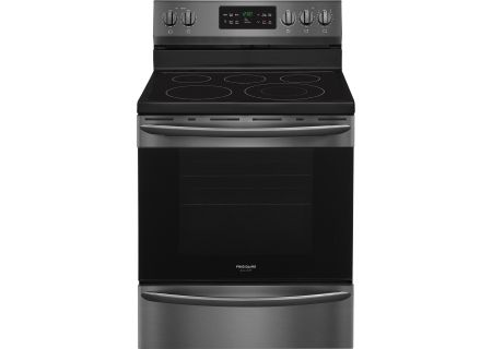 "Frigidaire Gallery 30"" Black Stainless Steel Freestanding Electric Range - FGEF3036TD"