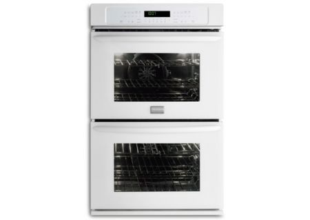 """Frigidaire Gallery 27"""" White Double Electric Wall Oven - FGET2765PW"""