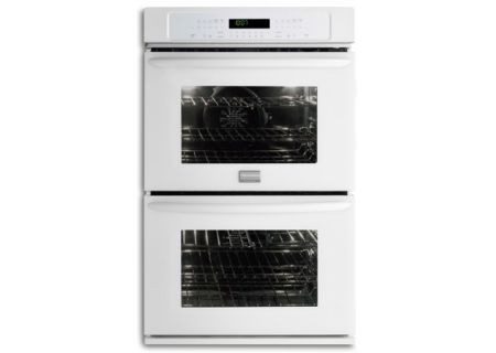"Frigidaire Gallery 30"" White Double Electric Wall Oven - FGET3065PW"