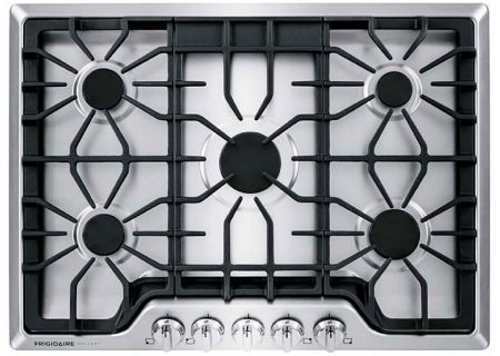 "Frigidaire Gallery 30"" Smudge-Proof Stainless Gas Cooktop - FGGC3047QS"