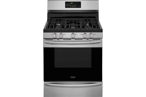 "Frigidaire Gallery 30"" Stainless Steel Freestanding Gas Range - FGGF3059TF"