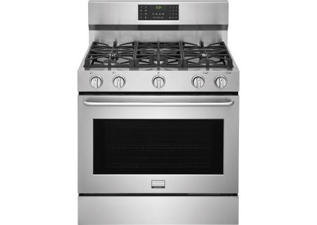 "Frigidaire 36"" Gallery Stainless Steel Gas Range - FGGF3685TS"