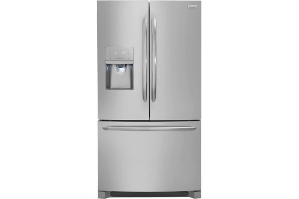 Large image of Frigidaire Gallery Stainless Steel French Door Refrigerator - FGHB2868TF
