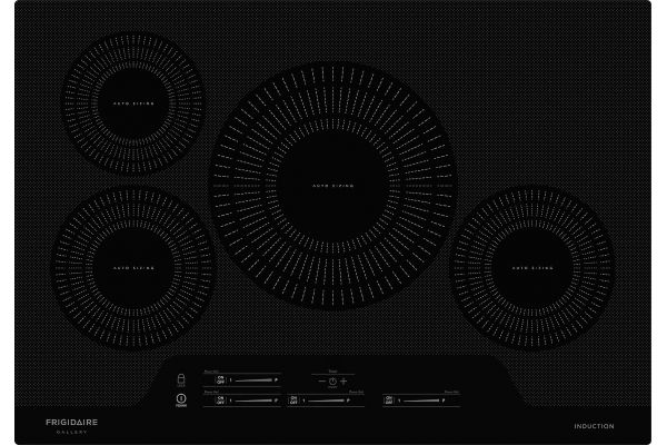 """Large image of Frigidaire Gallery 30"""" Black Induction Cooktop - FGIC3066TB"""