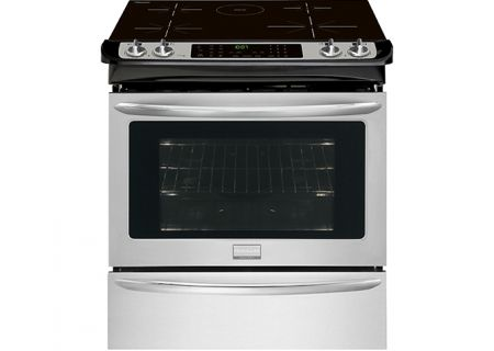 "Frigidaire Gallery 30"" Smudge-Proof Stainless Slide-In Induction Range - FGIS3065PF"
