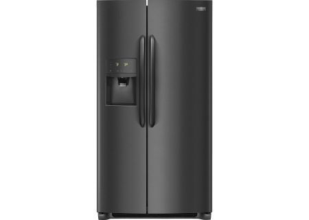 Frigidaire Gallery Black Stainless Steel Side-By-Side Counter Depth Refrigerator - FGSC2335TD