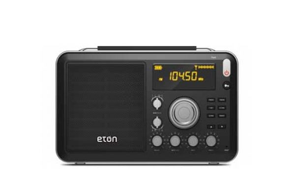Eton Field AM/FM/Shortwave Black Portable Radio - FIELD