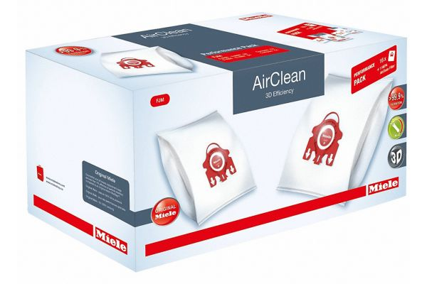 Large image of Miele AirClean 3D Efficiency FilterBags Type FJM And HA50 HEPA Filter Performance Pack - 10512520