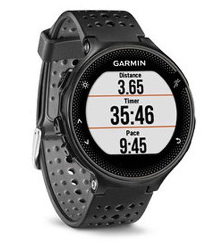 8fab116b6e04b4 Garmin Forerunner 235 Black GPS Running Smartwatch - 010-03717-54