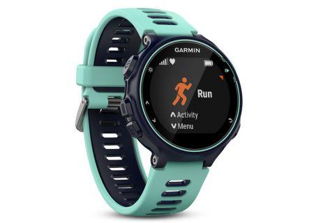 Garmin Forerunner 735XT Midnight Blue & Frost Blue Running Smartwatch - 010-01614-01