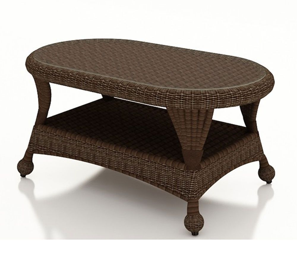 Forever Patio Winslow Wicker Coffee Table