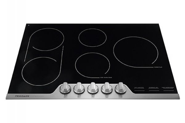 """Frigidaire Professional 30"""" Stainless Steel Electric Cooktop - FPEC3077RF"""