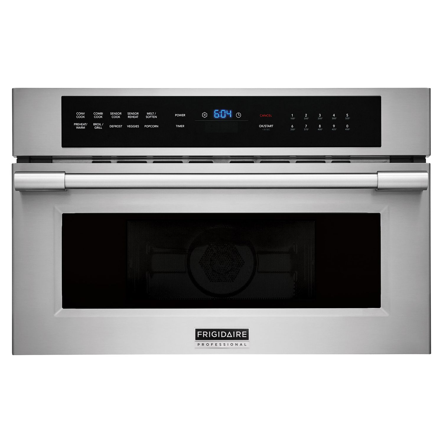 Frigidaire Professional 30 Built In Stainless Steel Convection Dropdown Door Microwave Oven