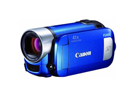 Canon - FS400BLUE - Camcorders & Action Cameras