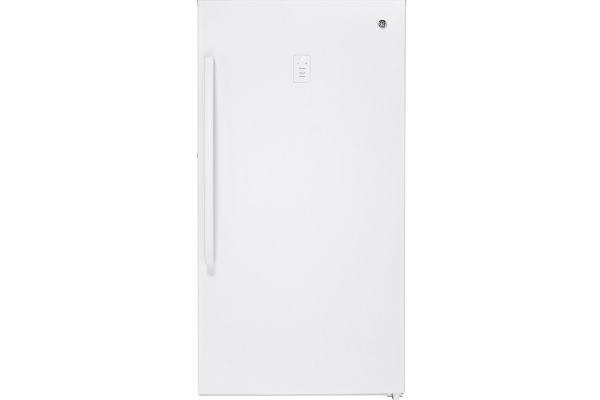 GE 17.3 Cu. Ft. White Frost-Free Upright Freezer - FUF17DLRWW