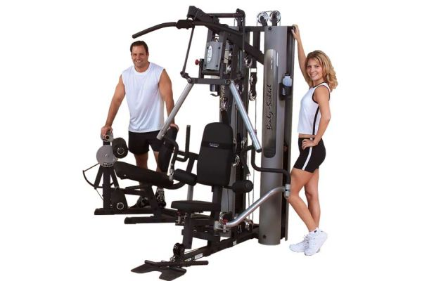 Large image of Body-Solid Multi-Stack Bi-Angular Home Gym - G10B