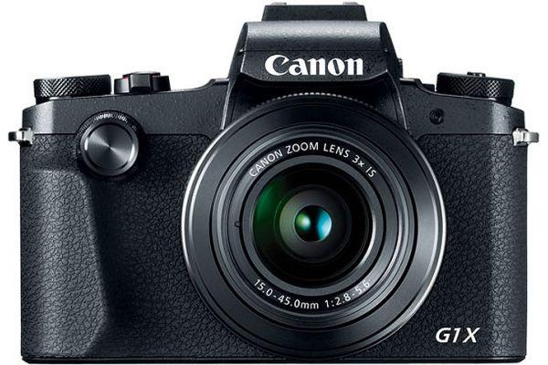 Large image of Canon PowerShot G1 X Mark III Black Digital Camera - 2208C001