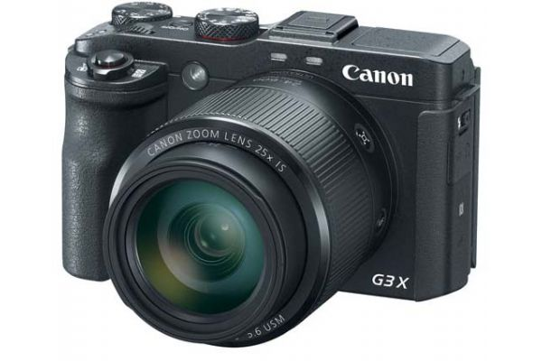 Large image of Canon PowerShot G3 X Black 20.2 Megapixel Digital Camera  - 0106C001