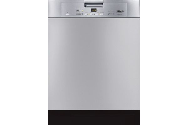 """Large image of Miele 24"""" Clean Touch Steel Classic Plus Built-In Dishwasher - 10426250"""