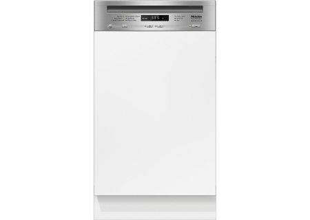 "Miele ADA 18"" Clean Touch Steel Integrated Slimline Built-In Dishwasher - G4720SCICLST"