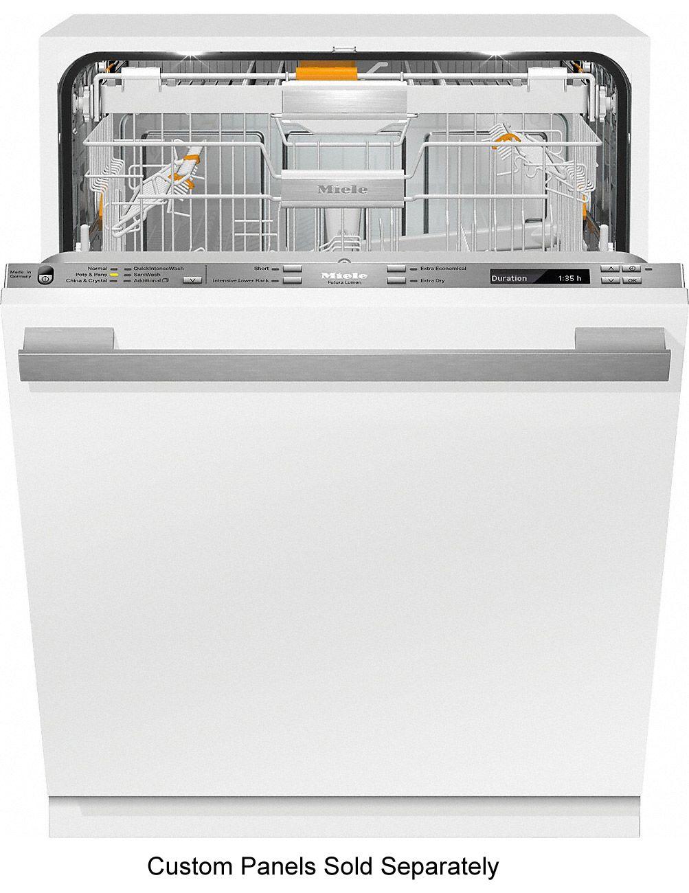 Miele 24 Panel Ready Ecoflex Lumen Fully Integrated Dishwasher