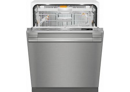 """Miele 24"""" Stainless Steel Built-In Dishwasher  - G6875SCVISFSS"""