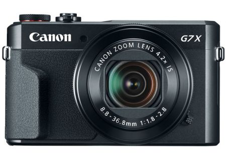 Canon PowerShot G7 X Mark II Black Digital Camera - 1066C001