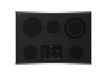 "Whirlpool 30"" Stainless Steel Electric Ceramic Glass Cooktop - G9CE3065XS"