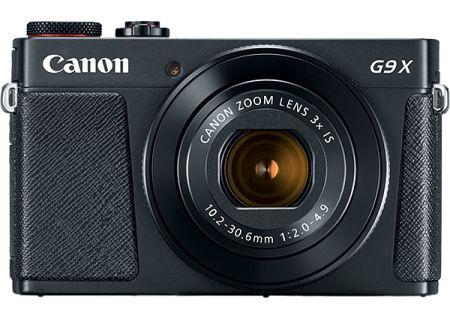 Canon PowerShot G9 X Mark II Black Digital Camera - 1717C001
