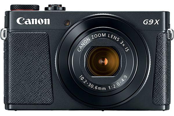 Large image of Canon PowerShot G9 X Mark II Black Digital Camera - 1717C001