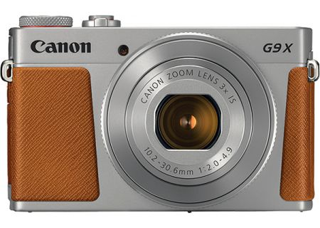 Canon PowerShot G9 X Mark II Silver Digital Camera - 1718C001