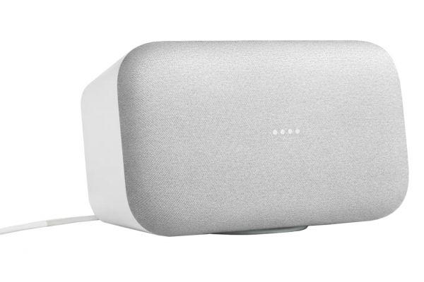 Google Home Max Chalk Multiroom Wi-Fi Speaker - GA00222-US