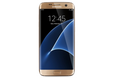 AT&T Wireless - GALAXYS7EDGEGLD - Cell Phones