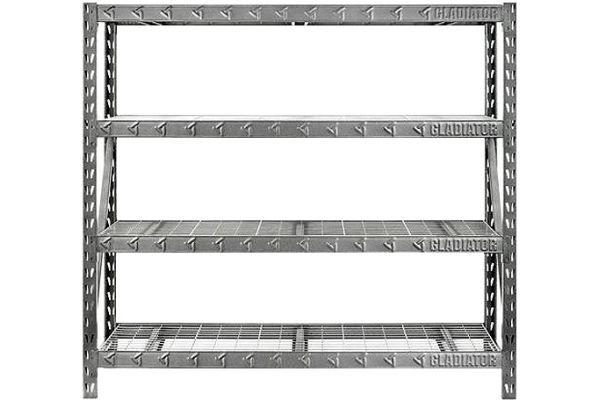 """Large image of Gladiator Garageworks 77"""" Rack Shelf - GARS774XEG"""