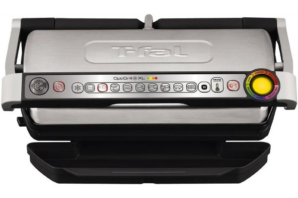 Large image of T-Fal OptiGrill XL Stainless Steel Indoor Electric Grill - GC722D53