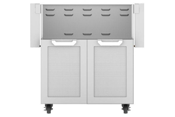 """Hestan 30"""" Stainless Steel Double Door Tower Cart  - GCD30"""