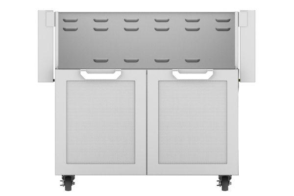 """Large image of Hestan 36"""" Steeletto Double Door Tower Cart - GCD36"""