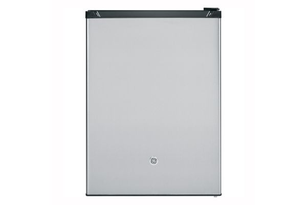 Large image of GE 5.6 Cu. Ft. Stainless Steel Compact Refrigerator - GCE06GSHSB