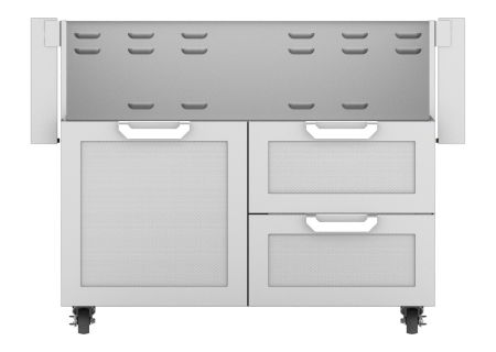 "Hestan 42"" Stainless Steel Door And Drawer Tower Cart  - GCR42"
