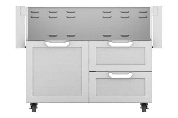 "Hestan 42"" Stainless Steel Door And Drawer Tower Cart  - GCR42"