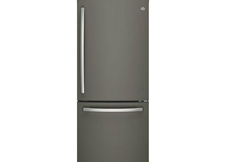 GE Slate Bottom Freezer Refrigerator - GDE21EMKES