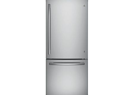 GE Stainless Steel Bottom Freezer Refrigerator - GDE21ESKSS