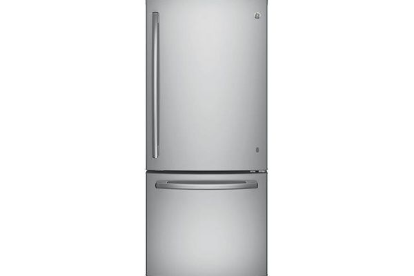 GE Stainless Steel Bottom Freezer Refrigerator - GDE21ESKSS