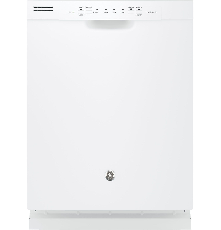 GE 24 White Built In Dishwasher GDF510PGJWW