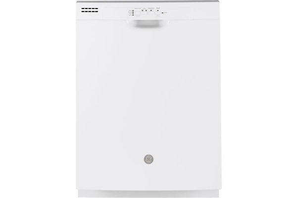 "GE White 24"" Built-In Dishwasher - GDF510PGMWW"