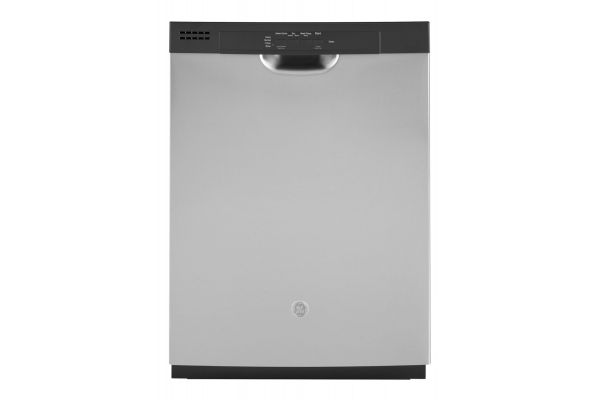 """Large image of GE Stainless Steel 24"""" Built-In Dishwasher - GDF510PSMSS"""