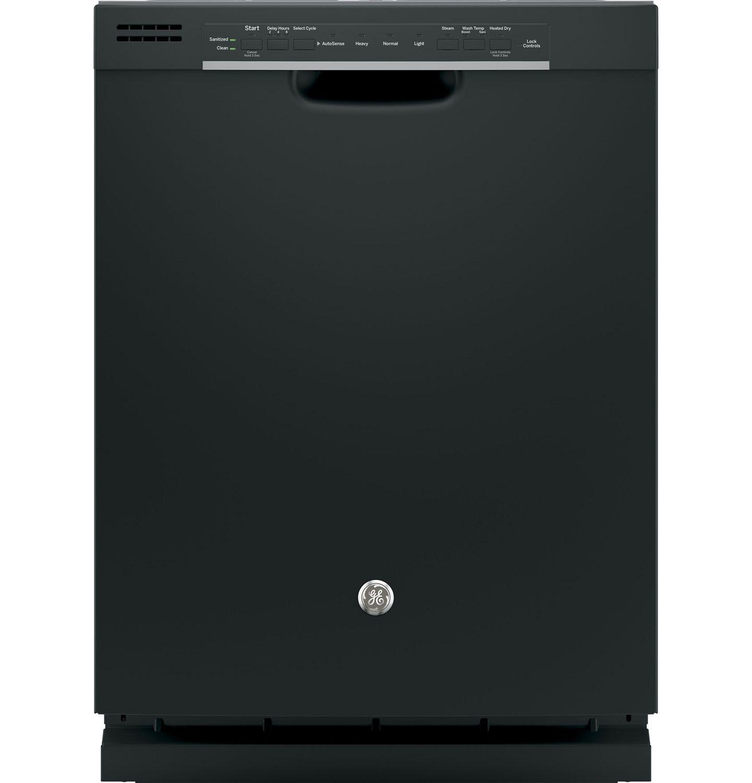 Ge 24 black built in dishwasher gdf520pgjbb for Abt appliances
