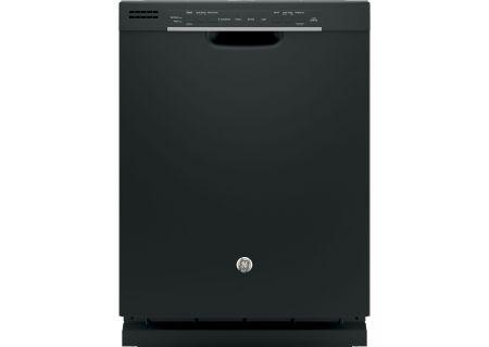 """GE 24"""" Black Built-In Dishwasher - GDF520PGJBB"""